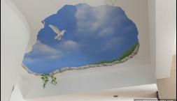 decorazione soffitto appartamento privato