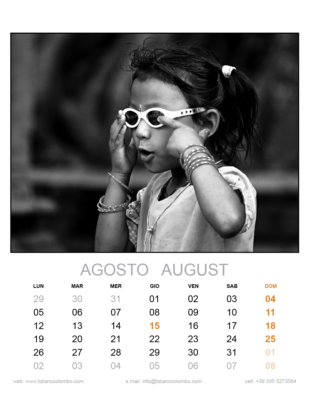 Photosi Calendario.Calendario Tiziano Colombo Illustratore Decoratore E